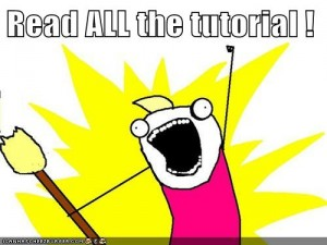All the tutorial